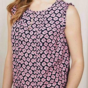 681d3b9a7c71a5 Boden Tops - Boden Clara Sleeveless Top Floral Navy Pink